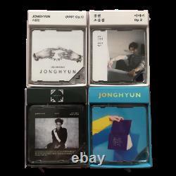 USED SHINee Jonghyun Kino Album 4-piece Set from Japan