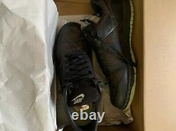 VNDS 2005 Nike Dunk low laser 1 piece US size 11 Black/Blak-Faded Green