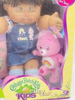 Vintage Cabbage Patch AA Girl Care Bears Limited Edition New