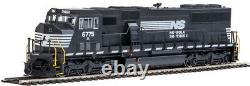 Walthers HO Scale EMD SD60M/2-Piece WS (DCC/ESU Sound) Norfolk Southern/NS #6775