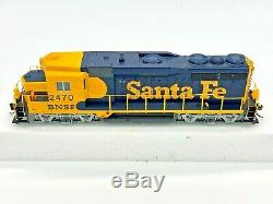 Walthers Proto 2000 Santa Fe BNSF Patch GP30 #2470 with DCC Sound Ho Scale