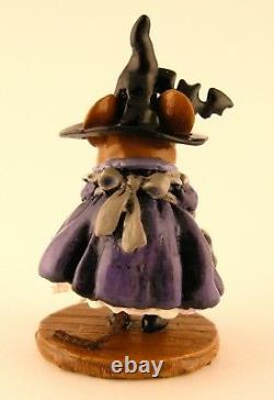 Wee Forest Folk TEACHER'S PET, LTD Event Piece Mouse Expo 2011 Witch Mouse