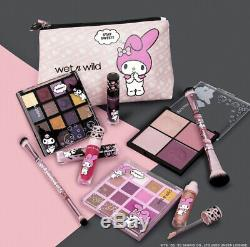 Wet N Wild My Melody and Kuromi Full Collection 10 Piece Box, LIMITED EDITION