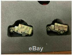 Z Panzer 1220 Scale K5 Military Train Cars, 11 Piece Set in Wooden Case SPECIAL