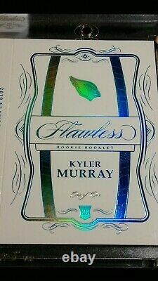 1/1 Rc Auto Kyler Murray NFL Shield 100 Ans Seeled Rpa Rookie 2019 Flawless