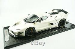 1/12 Bbr Ferrari Fxxk Evo Blanc Fuji Gloss Limitée De 5 Pièces M.
