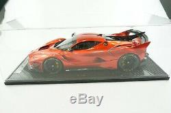 1/12 Bbr Ferrari Fxxk Evo F1 Rouge Brillant Métallique Limité 5 Pièces Mr