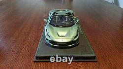 1/18 Bbr Ferrari F8 Tributo Spider Verde Francese Limited 32 Pièces Stunning