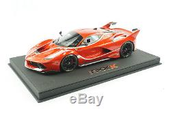1/18 Bbr Ferrari Fxxk Enzo Rouge Deluxe Base En Cuir Noir Limitée 10 Pièces Mr