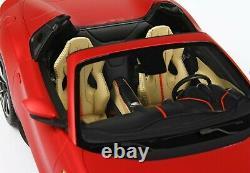 1/18 Ferrari 812 Gts Matt Red F2007b Ltd Avec Affichage 20 Pièces P18184i