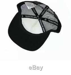 100% Authentique Chrome Hearts Hollywood Camionneur Noir / Blanc Limited Edition