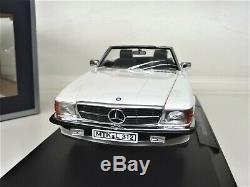 118 Norev Mercedes 300sl W107 Blanc Limited Edition 1000 Pièces Neu Nouveau