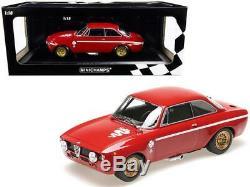 1971 Alfa Romeo Gta 1300 Junior Red Limited Edition À 600 Exemplaires Dans Le Monde 1/18