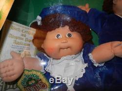 1985 Édition Limitée Coleco Cabbage Patch Dolls Twins Avec Dents Boy & Girl Nrfb