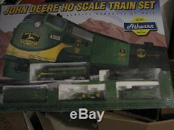 1997 Athearn John Deere Ho Scale (5 Pièces) Ensemble De Train. Mib