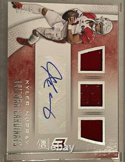 2019 Kyler Murray Rc Rookie Patch Auto Panini Chronicles /49 Rare Mint