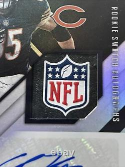 2020 Cole Kmet Xr 1/1 Patch Recrue Auto Panini One Of One Rpa NFL Chicago Bears