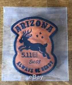 5,11 Tactique Patch Arizona Magasin Patch Xtremly Rare Édition Limitée 5,11 Patch