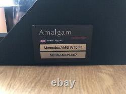 Amalgam-mercedes-amg F1 W10 Hamilton 2019 Monaco Gp Winner Ltd 150 Pièces Seulement