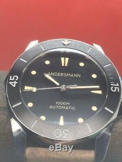 Andersmann Oceanmaster 1 Limited Edition 100 Pièces Suisse Eta De La Céramique 47mm