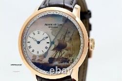 Arnold & Son East India Co. Indiamen Dead Seconds Limited Edition 28 Pièces