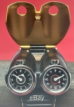 Azimuth Twin Turbo Swiss Eta Manuelle Edition Limitée 88 Pièces Double Mouvement
