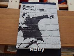 Banksy Wall And Piece Livre À Imprimer, Première Édition, Premier Chiffon, Article Rare