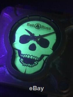 Bell & Ross Bronze Skull Br01 Bronzo Suisse Automatique Édition Limitée 500 Pièces
