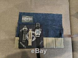 Benarus MIL Diver Limited Edition Automatique 45mm Blasted 42/50 Pièces Rares