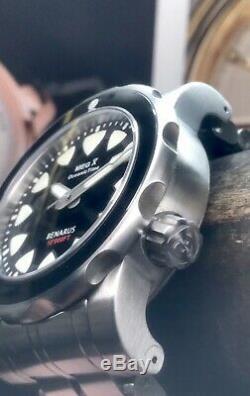 Benarus Megalodon Oceanictime X Special Edition 10000 Pieds Swiss Eta 25 Pièces
