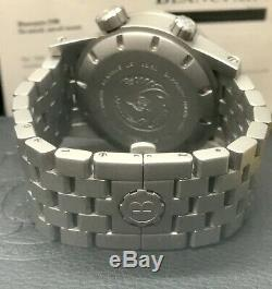 Benarus Sea Diable Limited Edition 50 Piece 1000m Plongeur 45mm Blanc Plein Lume Cadran
