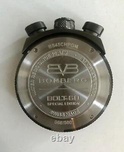 Bomberg Bolt 68 Chronograph Quartz Special Edition 500 Pièces Bs45chpgm