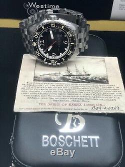 Boschett Harpoon Spirit Of Essex Limited Edition 10 Pièces 45mm Automatique 1000m