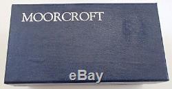 Boxed Moorcroft Vase Doux Voleur Design Piece MCC Rachel Bishop 2000 1 Étoile Ltd