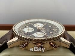 Breitling Navitimer Or Rose 18ct 42mm Chrono R23322 Ltd Edition 500 Pieces B & P
