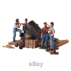Britains Soldats 31134 Une Guerre Civile 13 Mortier Et Équipage 5 Piece Set Ltd. Ed. 500