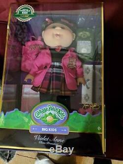 Cabbage Patch Kids 18 Pouces Big Kid Violet Anne - Limited Edition 1000