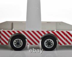 Car Transporter 6 Remorque Voiture 118 Métal Échelle Fantastique Affichage Piece Rare Nouveau