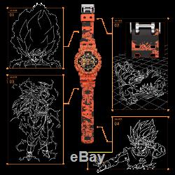 Casio G-shock Collabo One Piece Et Dragon Ball Z Ga-110j Op Db Montre Limité