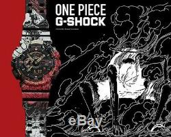 Casio G-shock Ga-110jop Collaboration One Piece Édition Limitée