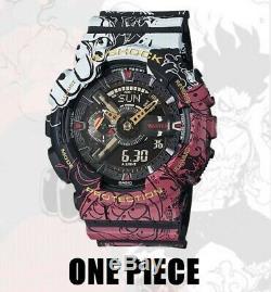Casio G-shock Limitée Edition'one Piece ' Anime Ga-110jop-1a4