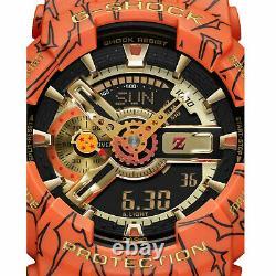 Casio G-shock X One Piece Dragon Ball Z Hommes Ga110jdb-1a4 Limited Edition Wa