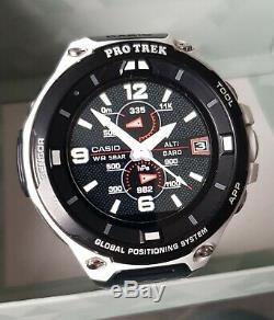 Casio Protrek Smart Watch D'wsd-f20-we Edition Limitée Blanc 1500 Pièces