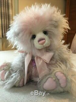 Charlie Bears Dreamgirl Limited Edition No. 87 De 250 Pièces Mohair / Alpaga