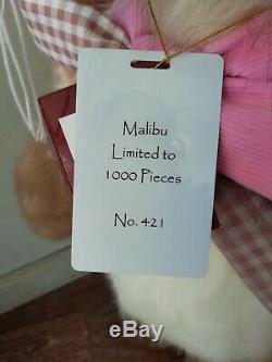 Charlie Bears Malibu, Lapin, Édition Limitée 1000 Pièces Dans Le Monde Entier