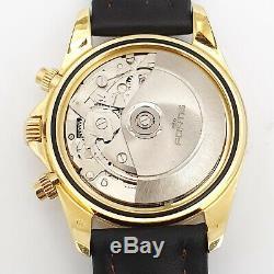 Chronographe Fortis Cosmonauts En Or 18 Carats Gmt, Édition Limitée No 099 / Seulement 100 Pièces