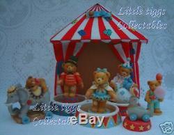 Collection Cheddy Teddies Circus 7 Pièces! Pièces Pour Tente Et Édition Limitée Inc