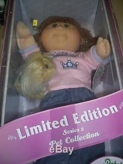 Collection Limited Edition Cabbage Patch Kids Series 2 Collection Pet 2004
