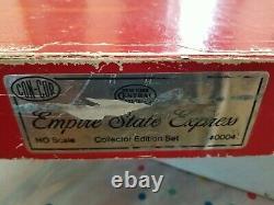 Con Cor Ho #0004 Empire State Express Nyc 7 Pièces Ensemble De Passagers Testé, Fonctionne
