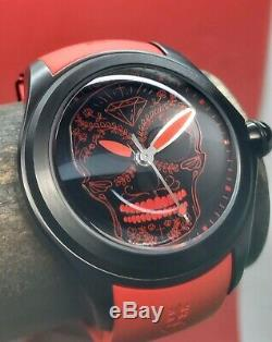 Corum Bubble Red Skull Mexicaine Pvd Limited Edition 88 Pièces Automatique Swiss